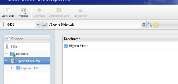 ajaxplorer_screen2_active_ZipFolder