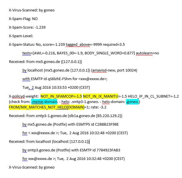 Auszug aus dem Header einer E-Mail
