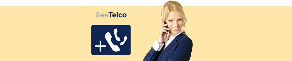 Hiltja telefoniert mit freetelco