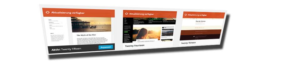 Wordpress Templates Grafik