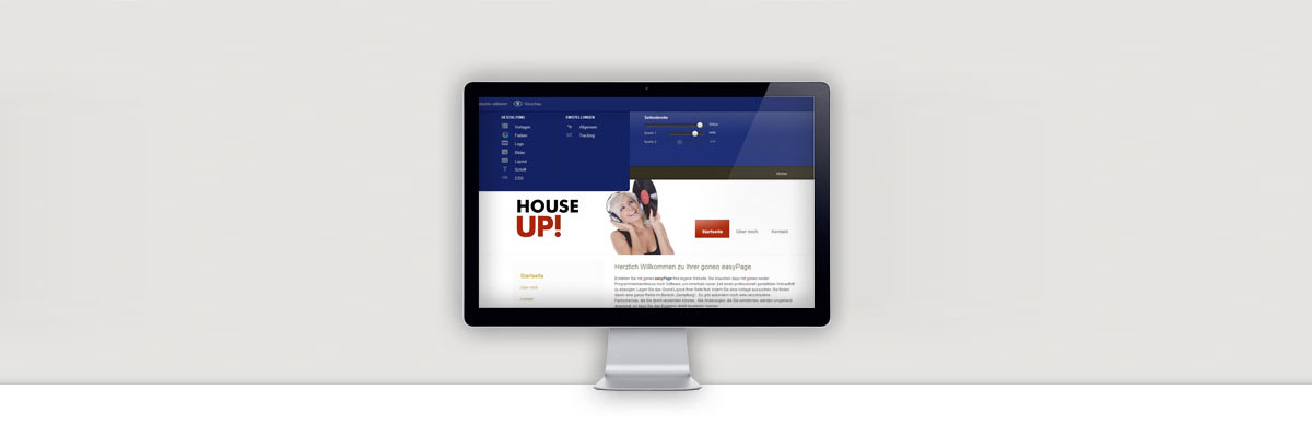 easyPage ist ein Homepagebaukasten