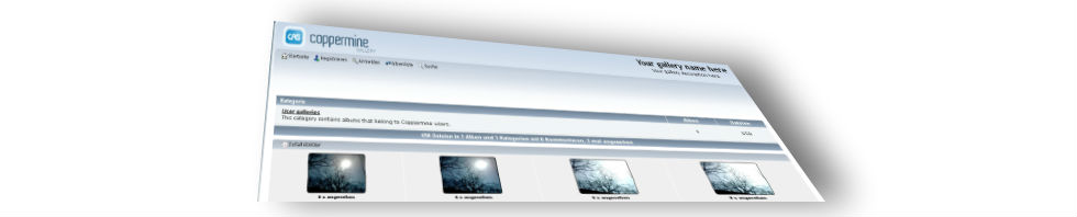 Coppermine Screenshot Header