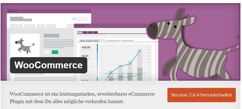 WooCommerce Plugin wordpress für Händler
