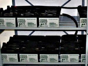 Batterien zur Notstromversorgung