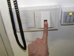 Zugangskontrollen mit biometrischen Sicherungen