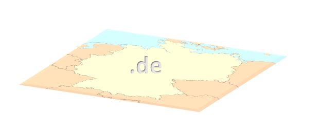 de Domain ist nicht nur in Deutschland beliebt