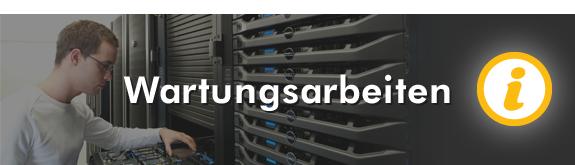 Serverwartung Mai 2017
