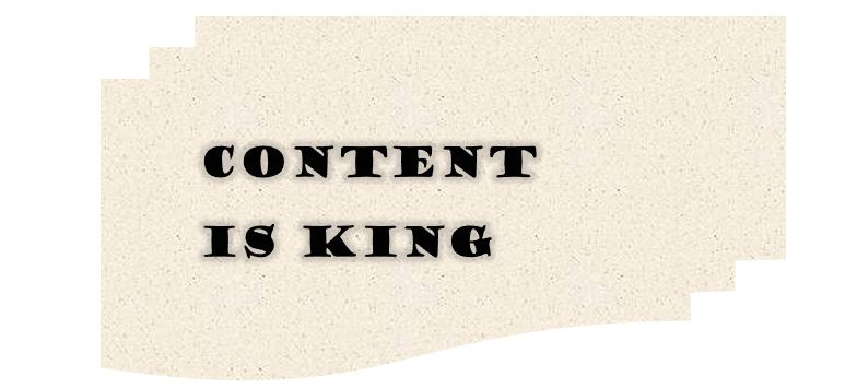Content Marketing SEO Content is King