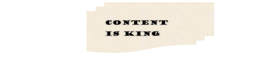 Content is king SEO Content Marketing