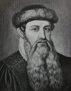 Bild von Johannes Gutenberg, Erfinder des Buchdrucks