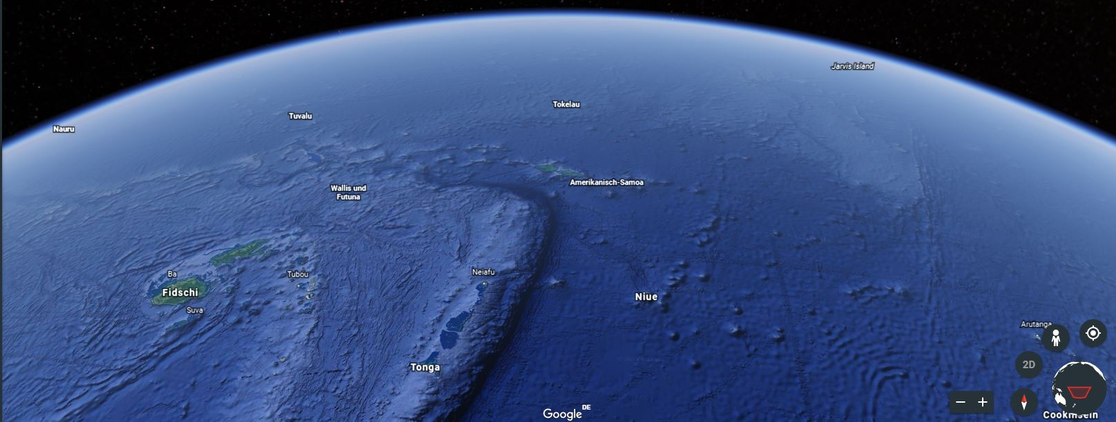 Quelle: Google Earth Tokelau