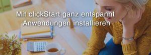 goneo clickStart Webanwendungen installieren