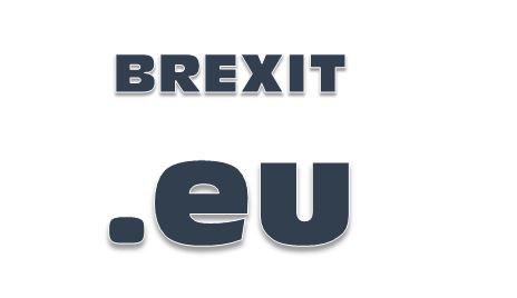 Brexit eu Schriftzug