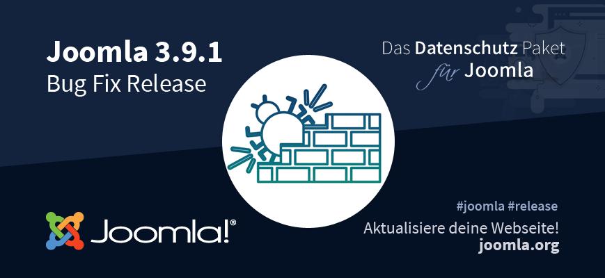 Joomla 3.9.1 Update Empfehlung