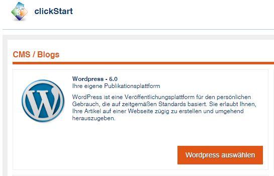 goneo clickStart ab sofort mit dem neuen WordPress 5.0