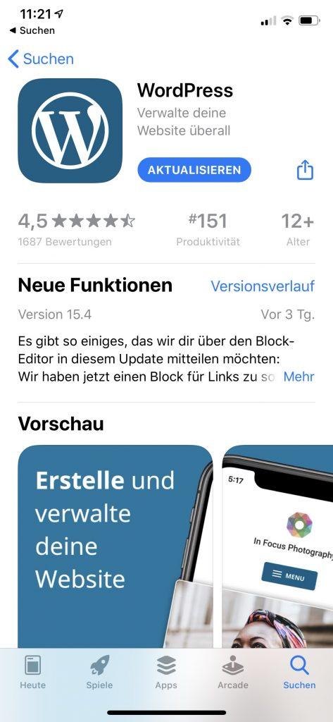 Die Affaire um Epic schlug Wellen. Das Spiel Fortnite flog aus dem Apple App-Store, weil Epic nicht die In-App-Kauf-Routinen von Apple nutzt. Der WordPress-App drohte ein ähnliches Schicksal.