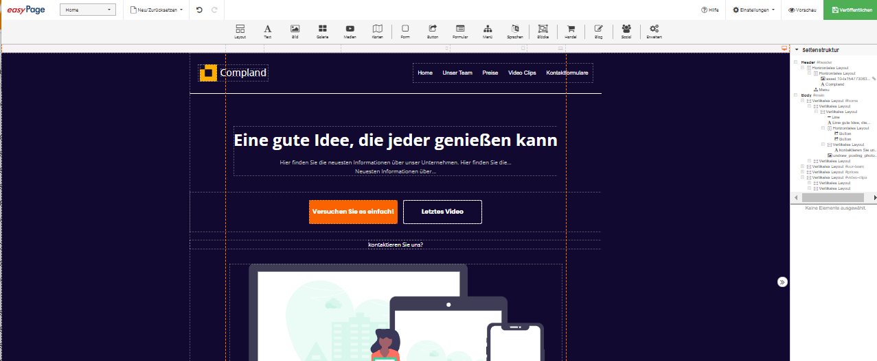 goneo easyPage 3 jetzt live